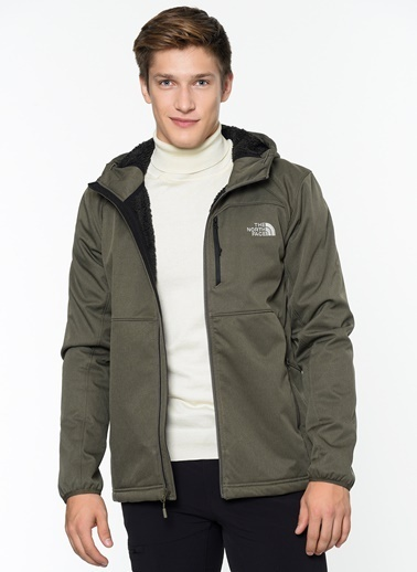 The North Face Softshell Mont Renkli
